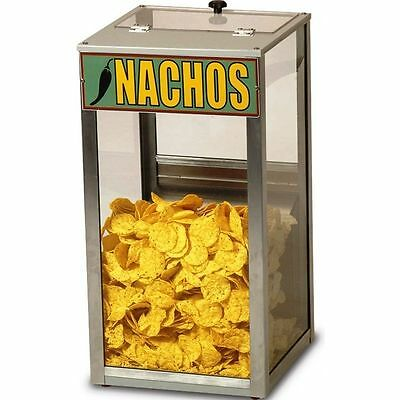 Countertop Popcorn Nacho Peanut Heated Display Cabinet - Merchandiser Warmer