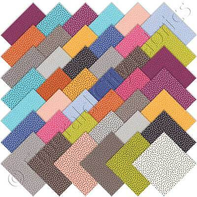 Patchwork/quilting Fabric Moda Charm Squares/packs - Just A Speck