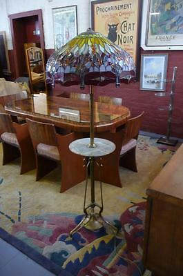 Huge Handcrafted Tiffany style Lamp Art Nouveau Arts & Crafts