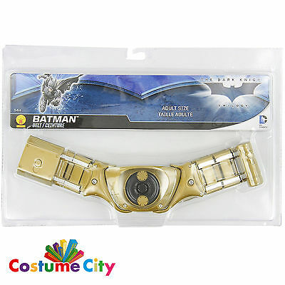 Adults Official DC Dark Knight Batman Utility Belt Fancy Dress Costume Accessory