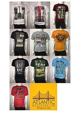 Men's T Shirts Pack of 10 Multicolours Size S to XXL