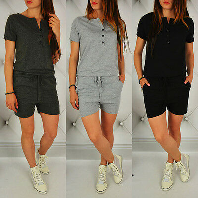 Women Casual Sportwear Summer Playsuit Bodycon Party Jumpsuit Romper Trousers