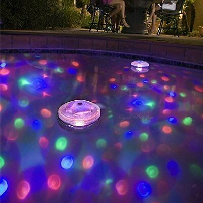 Underwater LED Floating Disco Light Show Bath Tub Swimming Pool Party Lights UK