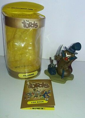 The Turds Shat The Ripper Standard Figurine Statue Boxed Log Book 2004