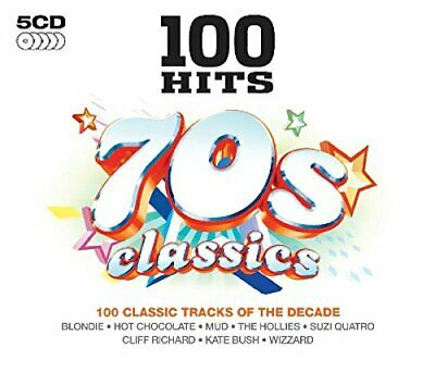 Various Artists - 100 Hits - 70S Classics - Various Artists CD 06VG The Cheap