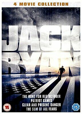 Jack Ryan 4 Movie Collection DVD - DVD  74VG The Cheap Fast Free Post