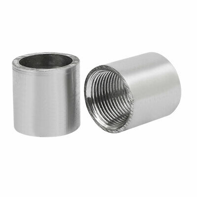 3/4BSP Stainless Steel Female Thread Weld On Straight Joint Nozzle Adapter 2pcs