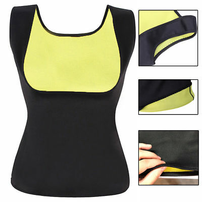 Women Hot Sauna Vest Neoprene Slimming Top Shaper Burn Fat Calorie Loose Weight
