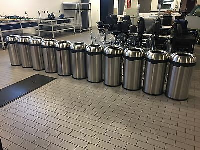Simple Human 13 Gallon Trash Can Stainless Steel