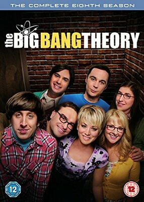 The Big Bang Theory - Season 8 [DVD] [2015] - DVD  QEVG The Cheap Fast Free Post