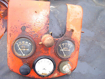 Vintage  Coop E 3  Tractor -Dash  Assembly - Rat Rod  ??