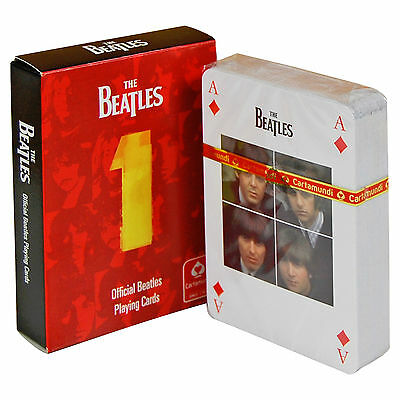 Beatles Number One Playing Cards - Fun Gift for Him/Her/Poker/Kids