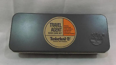 Timberland Travel Agent Shoe Care Kit Tin NEW