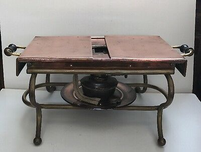 Antique Copper & Brass Hot Plate