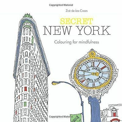 Secret New York: Colouring for mindfulness,New Condition