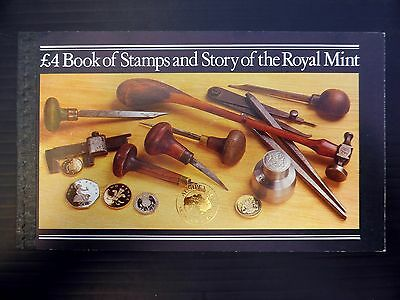 GB 1983 Royal Mint Prestige Booklet with Ausipex Gold OPT NB413