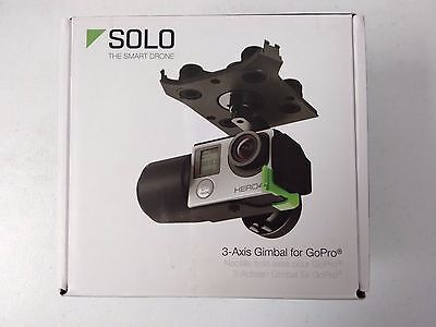 3DR GB11A Solo 3-Axis Gimbal for GoPro Camera - Black - READ