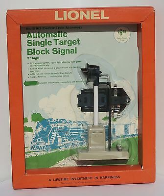Lionel B163 Automatic Signle Target Block Signal Picture Frame Blister Pack Htf