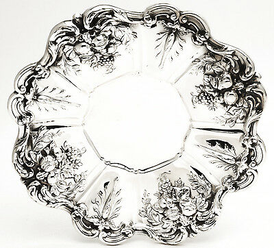 """Francis I by Reed & Barton Sterling Silver 11"""" Sandwich Serving Plate"""