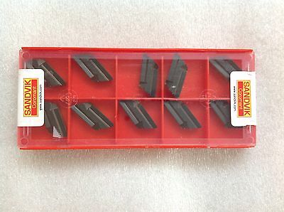 Set of 10 SANDVIK Coromant KNUX 16 04 10R12  4225 Carbide Inserts