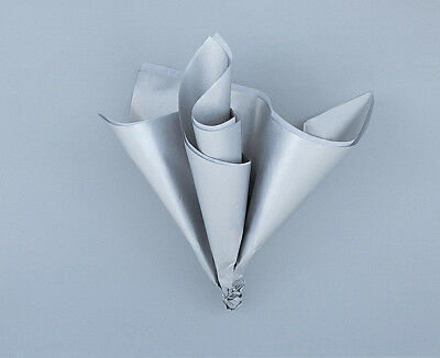 Tissue Sheets x5 Silver Gift Wrapping Tissue Paper