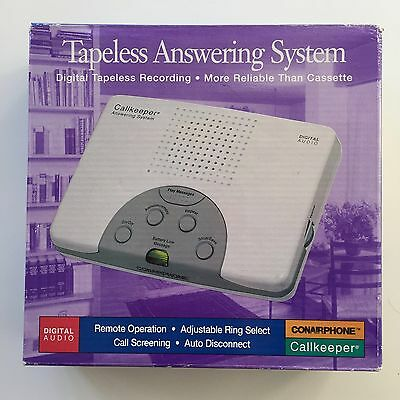 Conner Tapeless Answering System TAD1210 Callkeeper Digital Telephone Recording