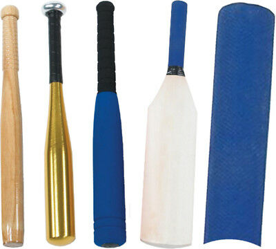 Central Practice & Training Baseball & Rounder Bat Match Quality Stick Assorted
