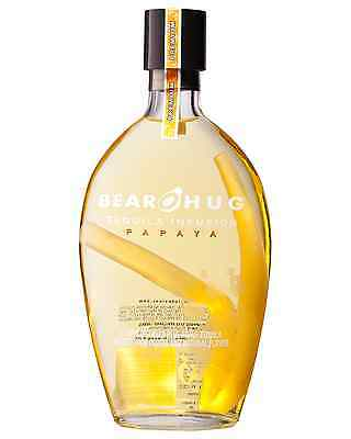 Bear Hug Tequila Infusion Papaya Infused Tequila 750mL bottle Flavoured Rum