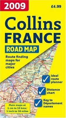 International Road Map - 2009 Map of France, Collectif Sheet map, folded Book