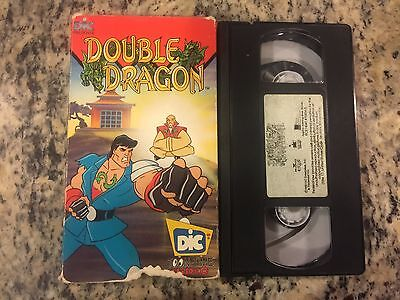 Double Dragon Rare Promo Screener Vhs 1992 Animated Series Cartoon