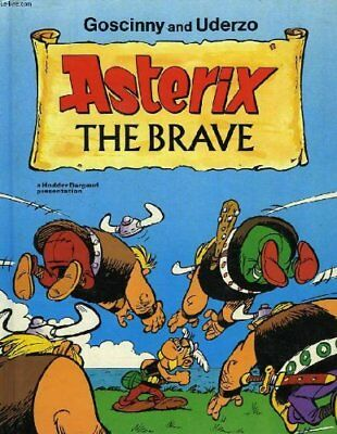 Asterix the Brave by Uderzo Hardback Book The Cheap Fast Free Post