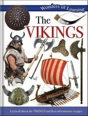 NEW Discover The History of Vikings By North Parade Publishing Hardcover