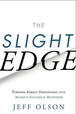 NEW The Slight Edge By Jeff Olson Paperback Free Shipping