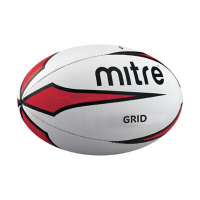 Mitre B2104 Grid Rugby Ball Outdoor Playing Match Training & Practice Ball