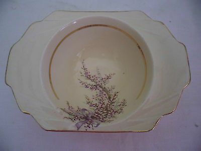 Vintage A J Wilkinson Honeyglaze Royal Staffordshire Pottery China Sugar Bowl
