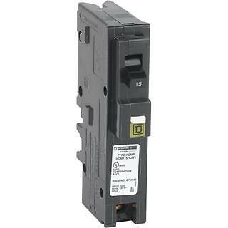 Square D Homeline Hom115Pcafi 15A Plug In Arc-Fault Breaker New