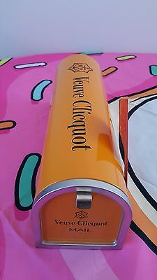 Veuve Clicquot You've Got Mail Orange Tin Mailbox!