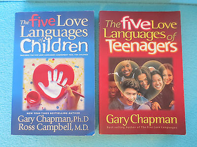 Lot 2 Paperbacks By Gary Chapman The Five Love Languages Of Children & Teenagers