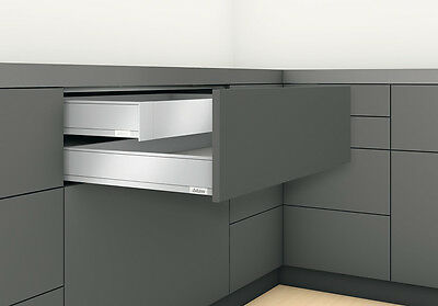 Blum LEGRABOX pure Innenschubkasten TIP-ON BLUMOTION Höhe M 90,5 mm
