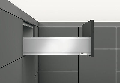 Blum LEGRABOX pure Schubkasten TIP-ON BLUMOTION Höhe K 128,5 mm