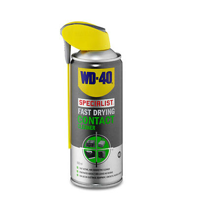 Specialist Fast Drying Contact Cleaner 400ml Smart Straw Garage - WD-40 44376