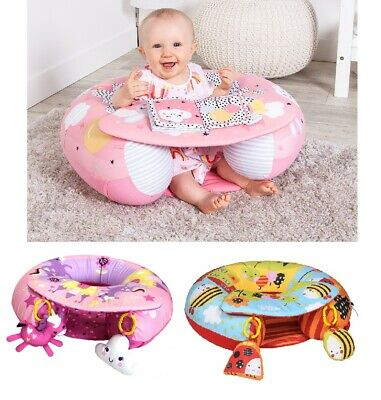 Red Kite Sit Me Up Inflatable Ring Baby Play Chair Tray Playnest Activity Seat