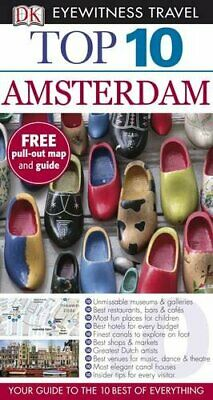 DK Eyewitness Top 10 Travel Guide: Amsterdam by Glass, Leonie Paperback Book The