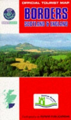 Borders of England and Scotland (Official Tourist Map) Sheet map, folded Book