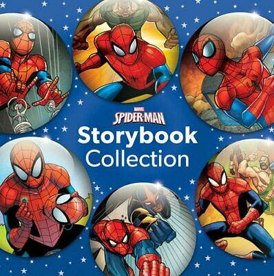 Marvel Spider-Man Storybook Collection by Parragon Books Ltd Book The Cheap Fast