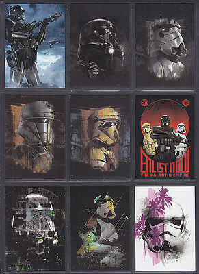 Topps Star Wars - Rogue One Series 2 - Troopers Set (10)