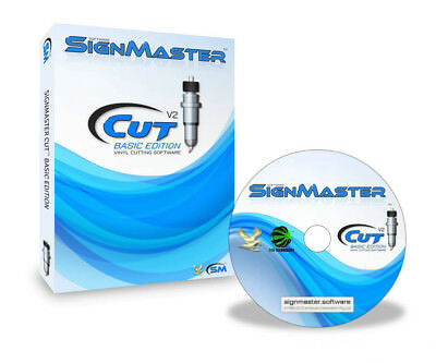 SignMaster Cutting Software for LIYU Cutter Plotter & Automark Contour Cutting