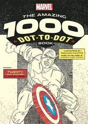 Marvel's Amazing 1000 Dot-to-Dot Book: Twenty Comic Characters to Complete Yours