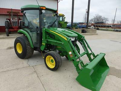 2015 John Deere 3039R Mfwd Compact Cab Tractor With Loader 63 Hours Hydro