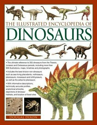 The Illustrated Encyclopedia of Dinosaurs by Dougal Dixon Book The Cheap Fast